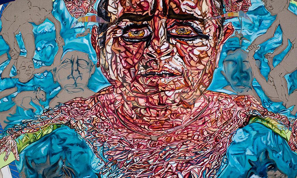 Schandra Singh's Portraits of Fragmented Identity