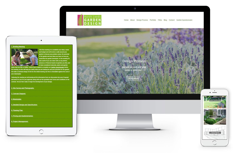 Visit The North Leeds Garden Design Website